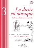 La Dictée en Musique Volume 3 laflutedepan.com