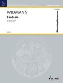 Fantasie Jörg Widmann Partition Clarinette - laflutedepan.com