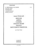 Prélude/Arpège/Gammes/Doigté croisé/Triolets/Mouvement perpétuel - laflutedepan.com