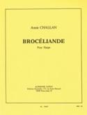 Brocéliande Annie Challan Partition Harpe - laflutedepan.com