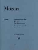 Sérenade en Mi bémol majeur K. 375 pour 2 clarinettes, 2 cors et 2 bassons laflutedepan.com