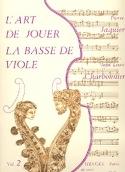 L'Art de jouer de la basse de viole - Volume 2 laflutedepan.com