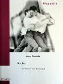 Kicho Astor Piazzolla Partition Contrebasse - laflutedepan.com