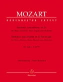 Sinfonia concertante in Es KV Anh. 1, 9 297b -Oboe Kl. Horn Fagott Klavier laflutedepan.com