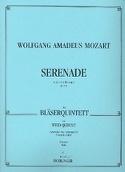 Serenade Es-Dur KV 375 -Bläserquintett - Stimmen laflutedepan.com