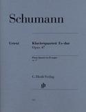 Quatuor avec piano en Mi bémol majeur op. 47 SCHUMANN laflutedepan.com