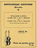 Suite n°1 in C minor and n° 2 in C major - 2 treble 2 bass viols laflutedepan.com