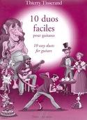 10 Duos faciles Thierry Tisserand Partition Guitare - laflutedepan.com