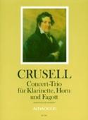 Concert-Trio Bernhard Henrik Crusell Partition laflutedepan.com