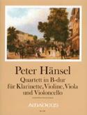 Quartett B-Dur op. 19 -Klarinette Violine Viola Cello -Partitur + Stimmen laflutedepan.com