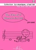 Do t'es où ? - Joy Kane - Partition - Eveil musical - laflutedepan.com