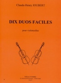 10 Duos faciles - Claude-Henry Joubert - Partition - laflutedepan.com