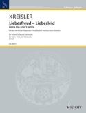 Liebesfreud - Liebeslied Fritz Kreisler Partition laflutedepan.com