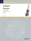 Serenata G Maj Op3/1 Carl Maria von Weber Partition laflutedepan