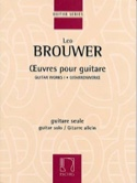 Oeuvres pour guitare Leo Brouwer Partition Guitare - laflutedepan.com