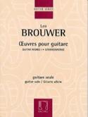 Oeuvres pour guitare Leo Brouwer Partition Guitare - laflutedepan.com
