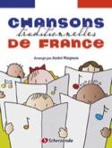 Chansons traditionnelles de France - André Waignein - laflutedepan.com