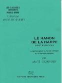 Hanon De la Harpe 20 Exercices - Etcheverry / Hanon - laflutedepan.com