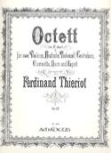 Octuor Op.62 En Si Bémol Majeur Ferdinand Thieriot laflutedepan.com