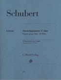 Quintette à cordes en Do majeur op. post. 163 D 956 laflutedepan.com