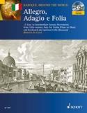 Allegro, Adagio et Follia Partition Violon - laflutedepan.com