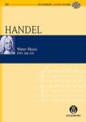 Water Music Hwv 348-350 partition et CD HAENDEL laflutedepan.com
