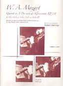 Quartett in A-Dur nach Klaviersonate KV 331 – Stimmen laflutedepan.com