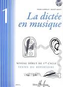 La Dictée en Musique Volume 1 laflutedepan.com
