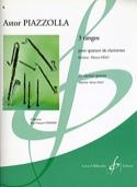 3 Tangos - Astor Piazzolla - Partition - Clarinette - laflutedepan.com