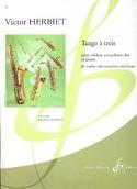 Tango a trois Victor Herbiet Partition Trios - laflutedepan.com
