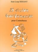 25 Etudes Divertissantes Jean-Loup Dehant Partition laflutedepan.com