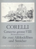 Concerto g-moll, op 6/8 - Partitur mit Stimmen laflutedepan.com
