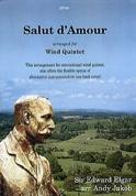 Salut d'amour -Wind quintet - Score + parts laflutedepan.com
