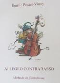 Allegro Contrabasso Emilie Postel-Vinay Partition laflutedepan.com