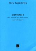 Quatrain 2 Toru Takemitsu Partition Quatuors - laflutedepan.com