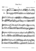 3 Duos BEETHOVEN Partition Duos - laflutedepan.com