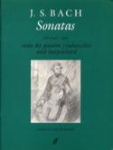 Gamba Sonatas - Johann Sebastian Bach - Partition - laflutedepan.com