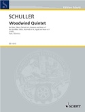 Woodwind Quintet - Parts Gunther Schuller Partition laflutedepan.com