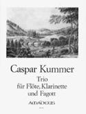Trio Op. 32 Gaspard Kummer Partition Trios - laflutedepan.com