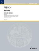 Poème Opus 39 Zdenek Fibich Partition Quintettes - laflutedepan.com
