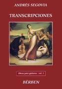 Transcriptions Obras - Volume 3 Andrès Segovia laflutedepan.be