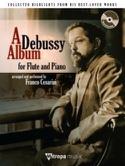 A Debussy Album DEBUSSY Partition Flûte traversière - laflutedepan