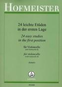 24 Leichte Etüden In Der Ersten Lage Partition laflutedepan.com