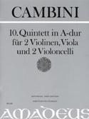 Quintette Nr. 10 En la Maj. Giuseppe Maria Cambini laflutedepan.com