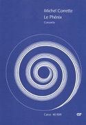 Concerto le Phénix - Set des Parties Michel Corrette laflutedepan.com
