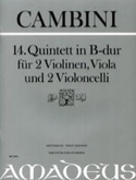 Quintette Nr. 14 En Sib Maj. Giuseppe Maria Cambini laflutedepan.com