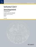 Quintette Op.8 N°2 En Sol Min. Wranitzky Partition laflutedepan.com