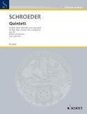 Quintette Op.50 Hermann Schroeder Partition laflutedepan.com