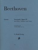 Sérénade Op.25 BEETHOVEN Partition Trios - laflutedepan.com