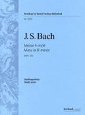 Messe En Si Mineur BWV 232 BACH Partition laflutedepan.com
